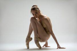 Ballerina in body e scarpe da punta danzashop