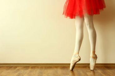 Ballerina sulle punte danzashop
