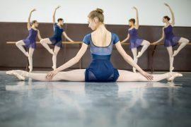 Ballerine con scarpe da punta danzashop