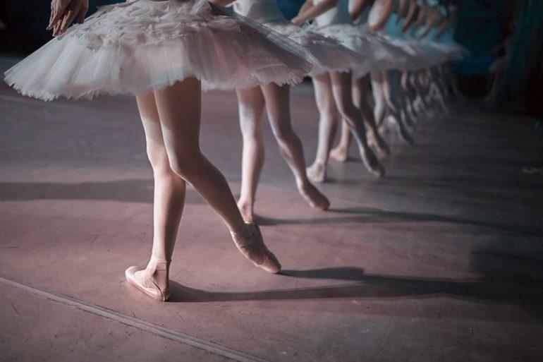 Ballerine in punta scarpe danzashop